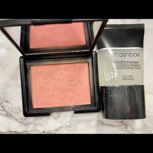 NARS blush & Smashbox primer